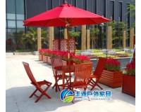 深圳景观实木桌椅