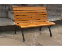 成都公园铁木椅子