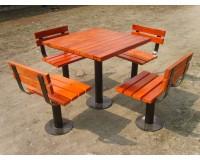 成都铁木花园椅