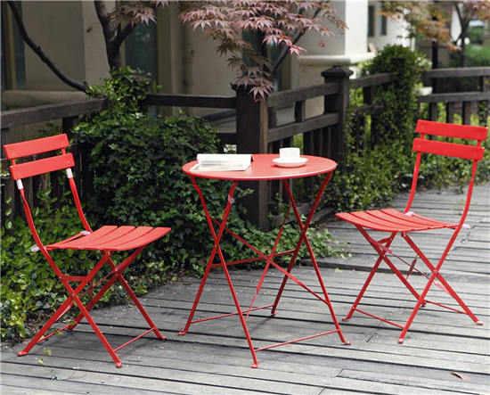Grand Patio金属可折叠餐桌椅套装
